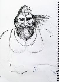 activity 15 sketch 2 giantor face